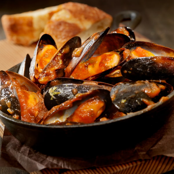 Mussels in prov sauce