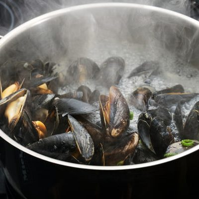 Enjoy cooking convenience with mussels
