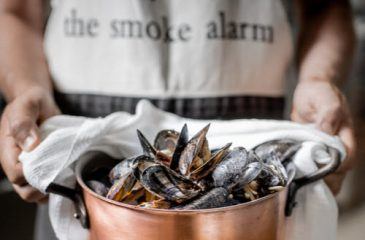 How to enjoy your Kinkawooka Cooked Mussels
