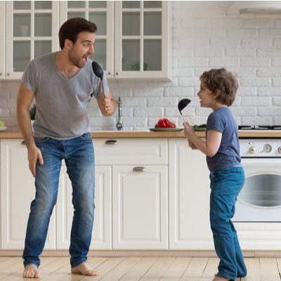 Fill your home with laughter, music and great home cooked meals