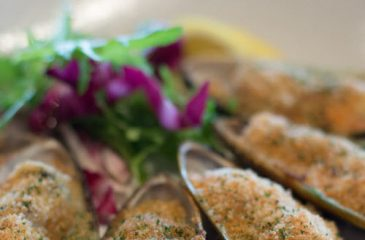 Kinkawooka Mussels with Miso Butter
